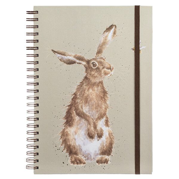 Wrendale Hare and the Bee Large A4 Notebook