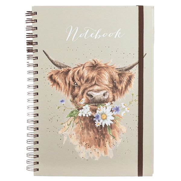 Wrendale Daisy Coo Large A4 Notebook