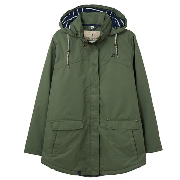 Lighthouse Khaki Iona Ladies Coat