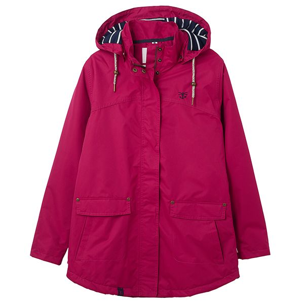 Lighthouse Raspberry Iona Ladies Coat