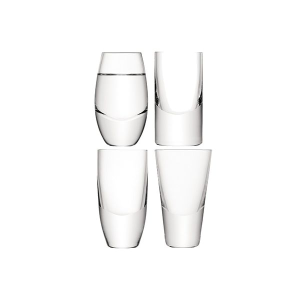 LSA LULU Vodka Glass Set Of Four
