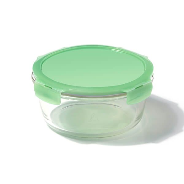 Lock & Lock Eco 950ml Round Oven Glass Container