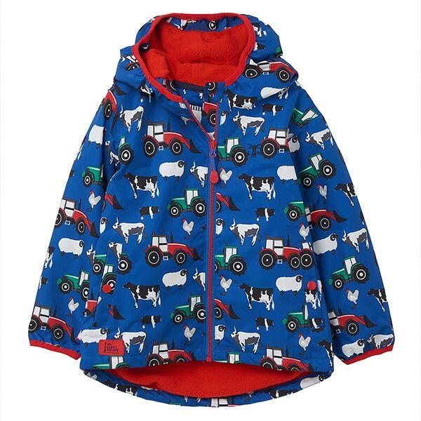 Lighthouse Farmyard Print Lucas Boys Coat