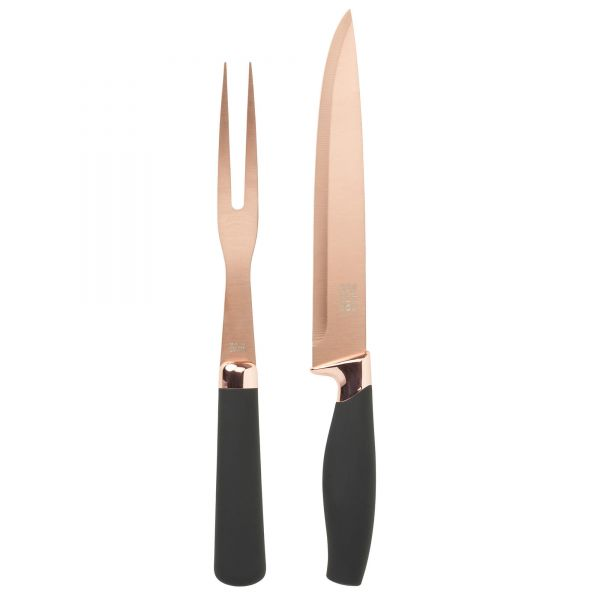 Taylors Eye Witness Brooklyn Rose Gold Carving Set