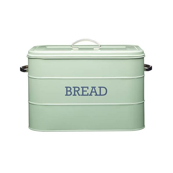 Living Nostalgia English Sage Green Bread Bin
