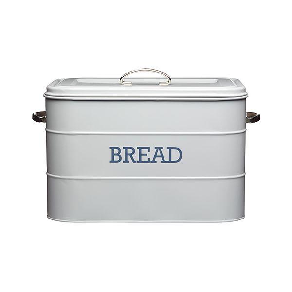 Living Nostalgia French Grey Bread Bin