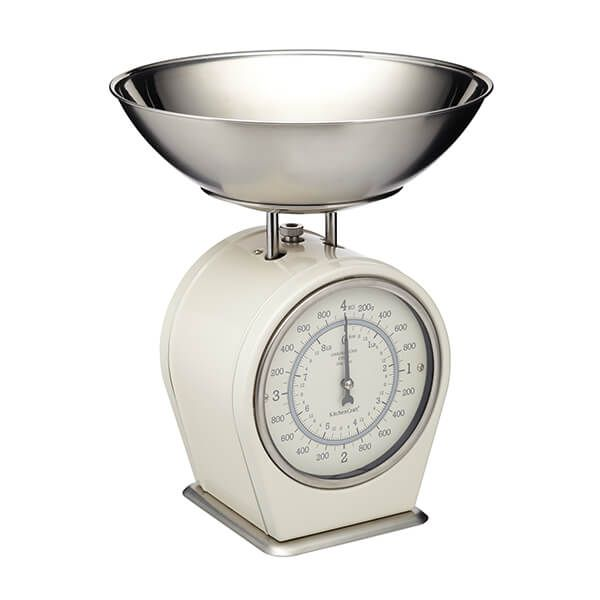 Living Nostalgia Antique Cream Mechanical Scales