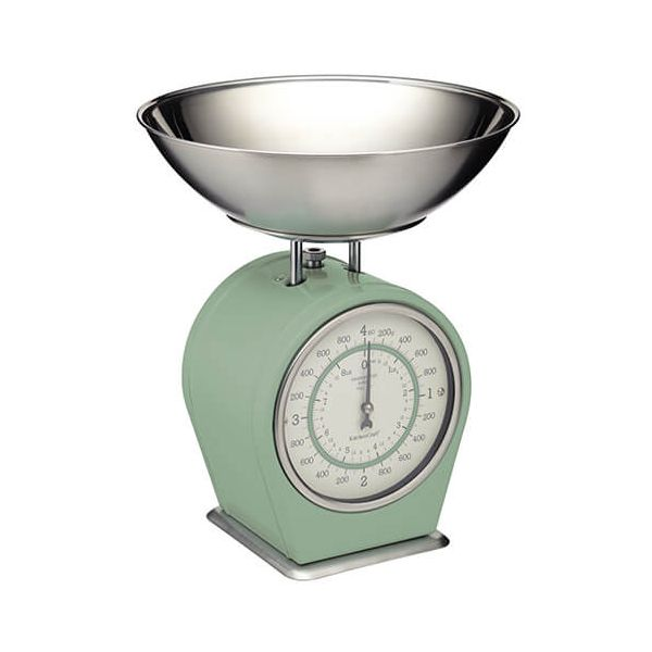 Living Nostalgia English Sage Green Mechanical Scales