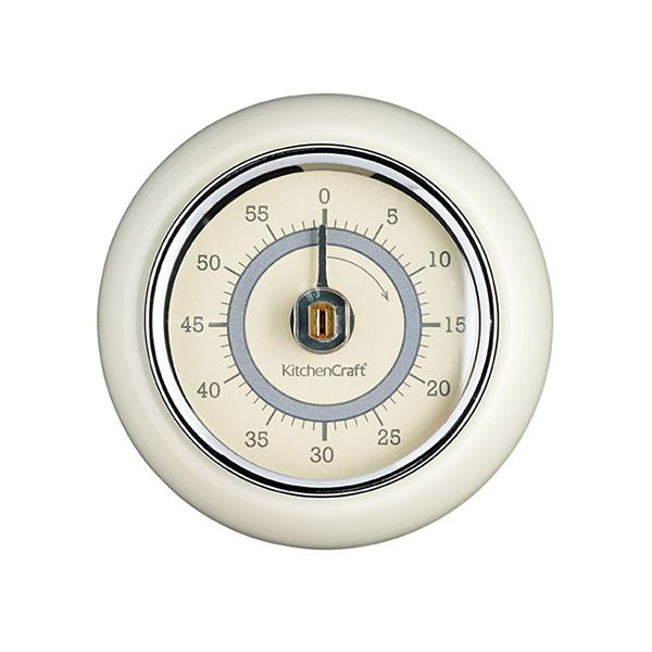 Living Nostalgia Antique Cream Timer