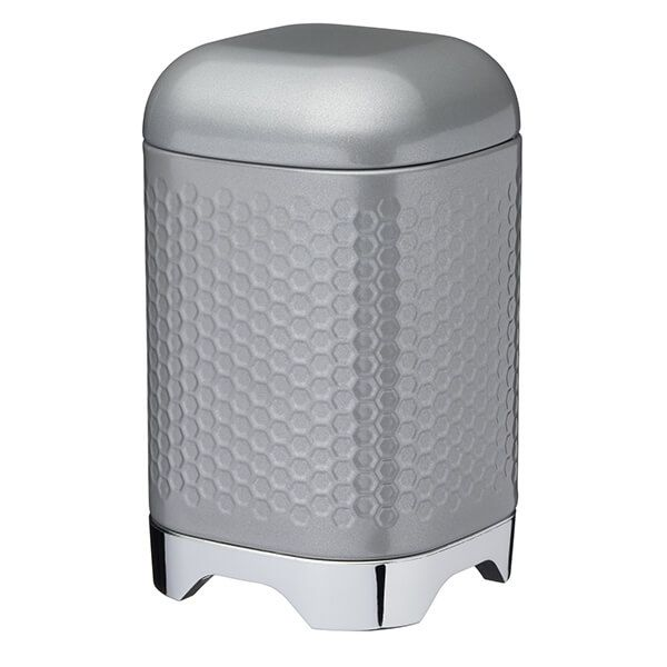 Lovello Retro Shadow Grey Textured Canister