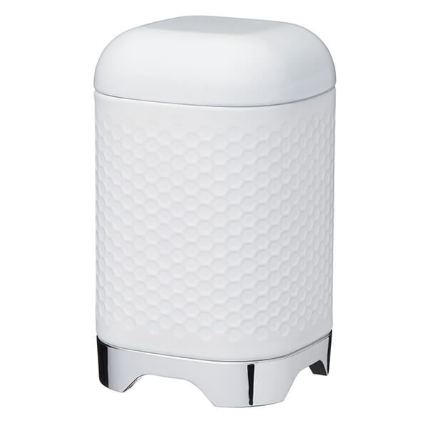 Lovello Retro Ice White Textured Canister