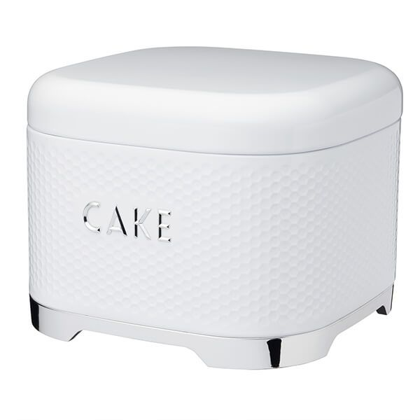Lovello Retro Ice White Textured Cake Tin