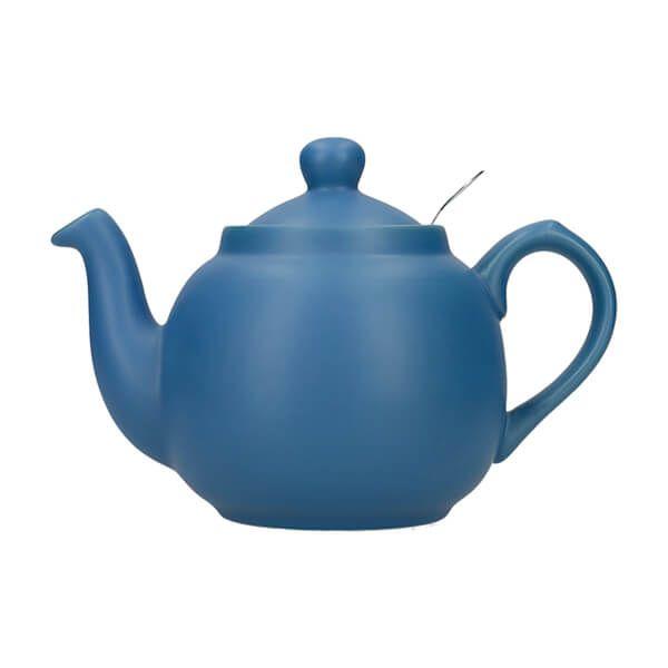 London Pottery Farmhouse Filter 2 Cup Teapot Nordic Blue