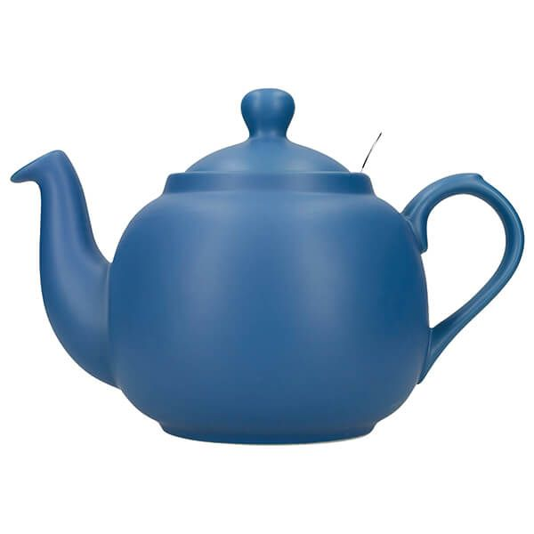 London Pottery Farmhouse Filter 6 Cup Teapot Nordic Blue