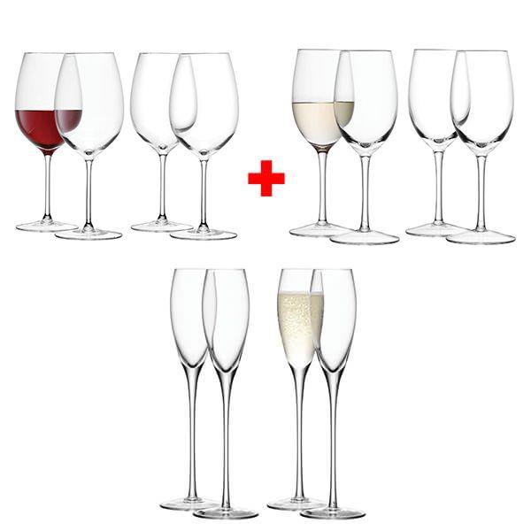 LSA Wine 12 Piece Set