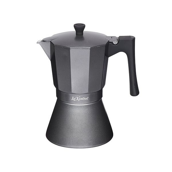 Le Xpress 9 Cup Induction Espresso Coffee Maker Grey