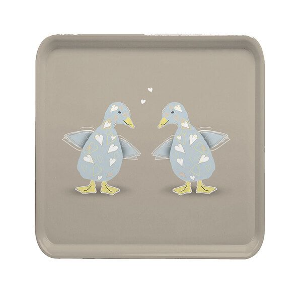 Melamaster Square Tray Duck