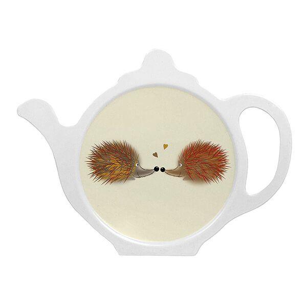 Melamaster Teabag Tidy Hedgehog