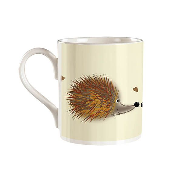 Melamaster Straight Mug Hedgehog