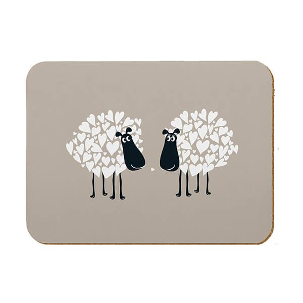Melamaster Kitchen Board Sheep