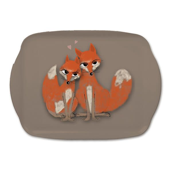 Melamaster Medium Tray Fox