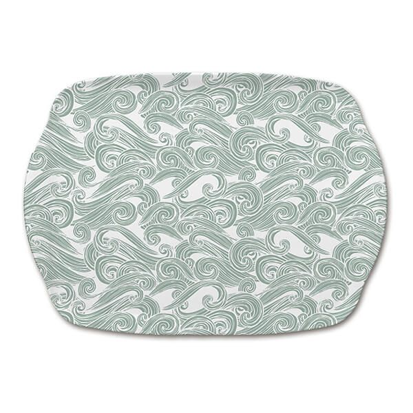 Melamaster Medium Tray Seashore
