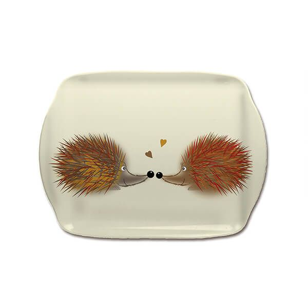 Melamaster Scatter Tray Hedgehog