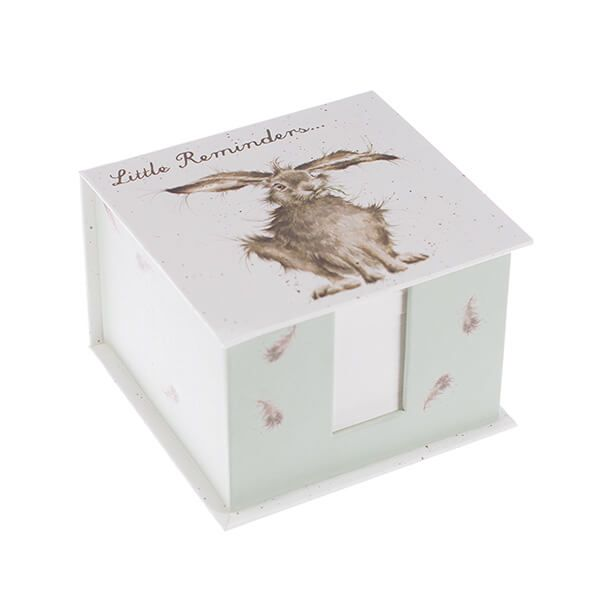 Wrendale Designs Hare Little Reminders Memo Block