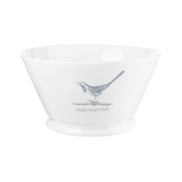 Mary Berry English Garden 16cm Medium Serving Bowl Pied Wagtail
