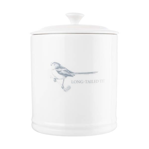 Mary Berry English Garden Coffee Canister Long Tailed Tit