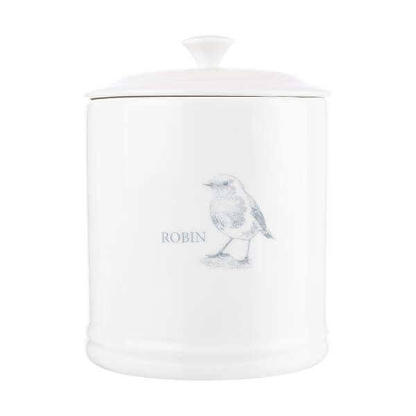 Mary Berry English Garden Sugar Canister Robin