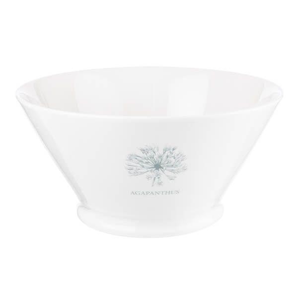 Mary Berry English Garden 20cm Large Serving Bowl Agapanthus