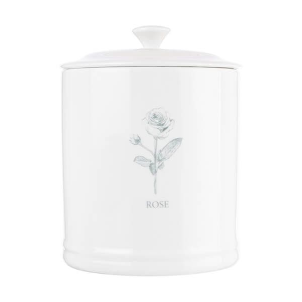 Mary Berry English Garden Storage Canister Rose