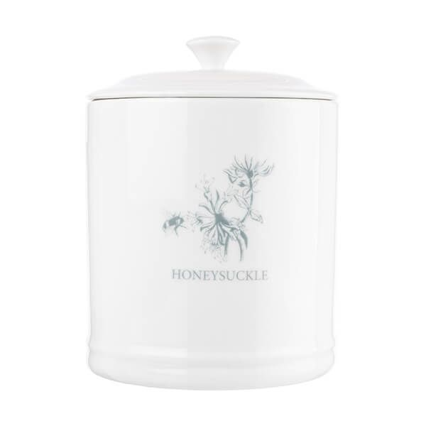 Mary Berry English Garden Tea Canister Honeysuckle