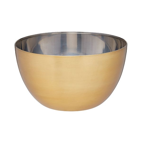MasterClass Brass Finish Mixing Bowl Large 24cm