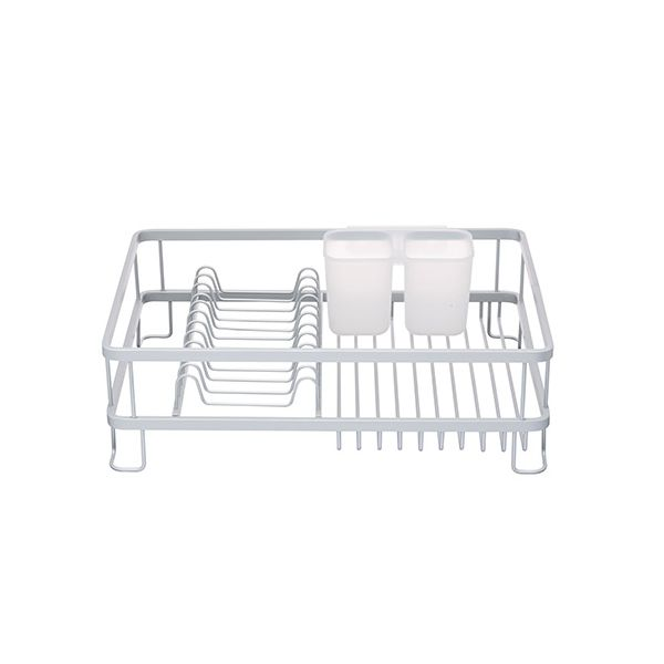 Master Class Aluminium Dish Drainer With Cutlery Holder