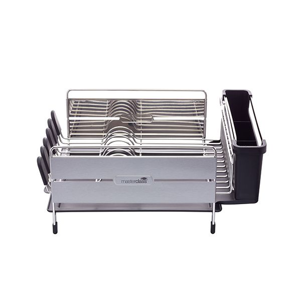 Master Class Stainless Steel Dish Draining Rack
