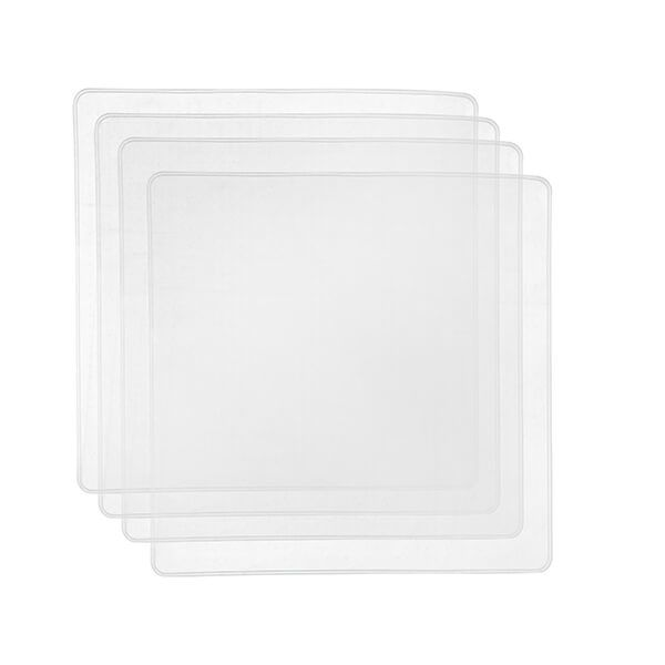 MasterClass Silicone Food Cover 19.5cm Set of 4