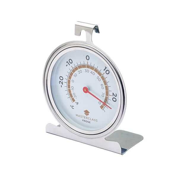 Master Class Deluxe Large Stainless Steel Fridge Thermometer 10cm