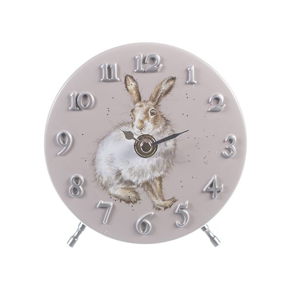 Wrendale Designs Hare Mantel Clock