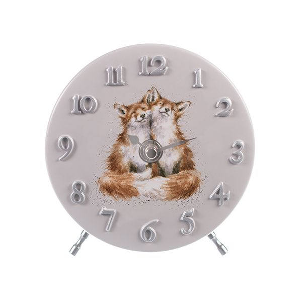 Wrendale Designs Fox Mantel Clock