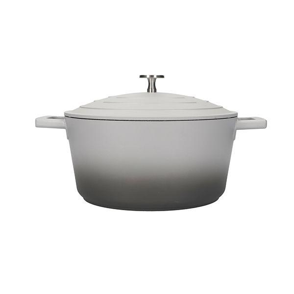 MasterClass Grey Ombre Cast Aluminium 24cm 4L Casserole Dish