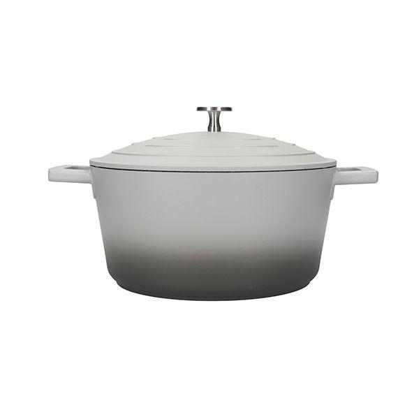 MasterClass Grey Ombre Cast Aluminium 28cm 5L Casserole Dish