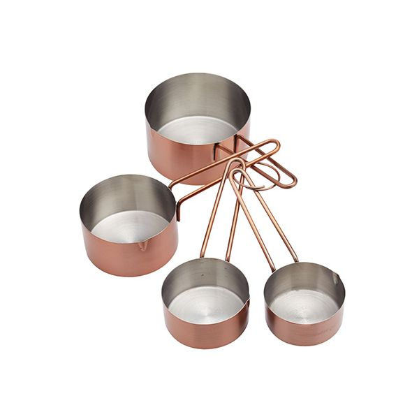 Master Class Copper Measuring Cups Set Of 4