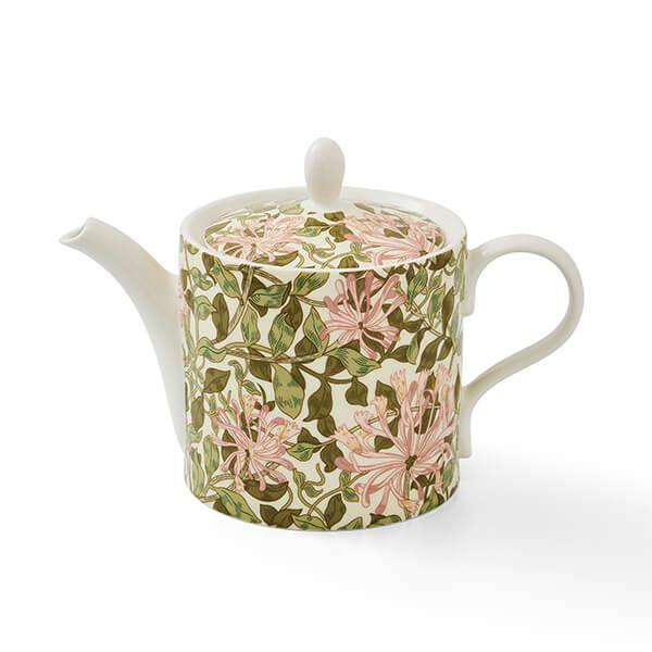 Morris & Co Honeysuckle 2 Pint Teapot