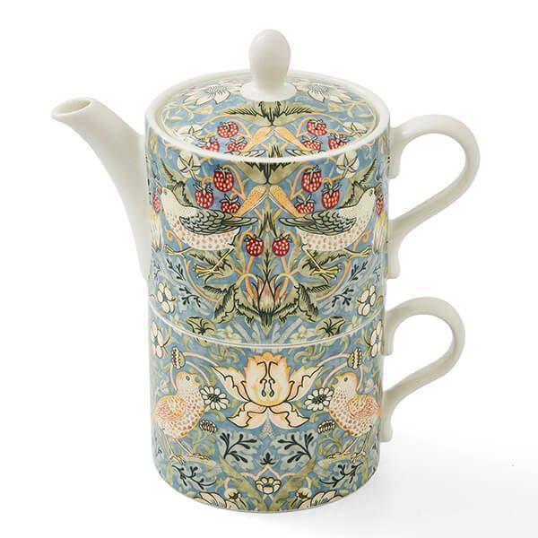 Morris & Co Tea for One Strawberry Thief