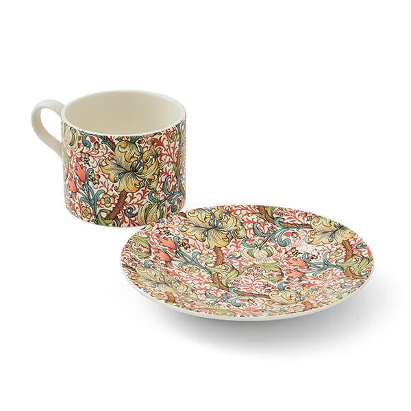 Morris & Co Golden Lily Teacup & Saucer