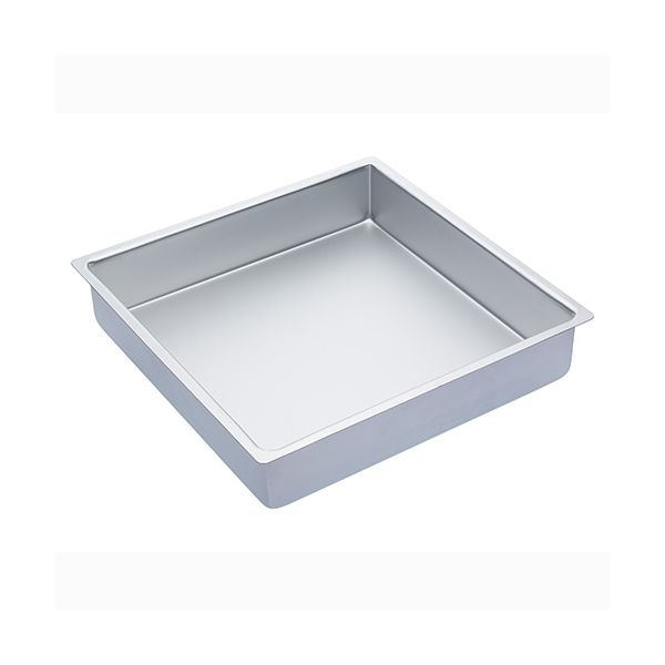 """Master Class Silver Anodised 35.5cm / 14"""" Square Cake Pan"""