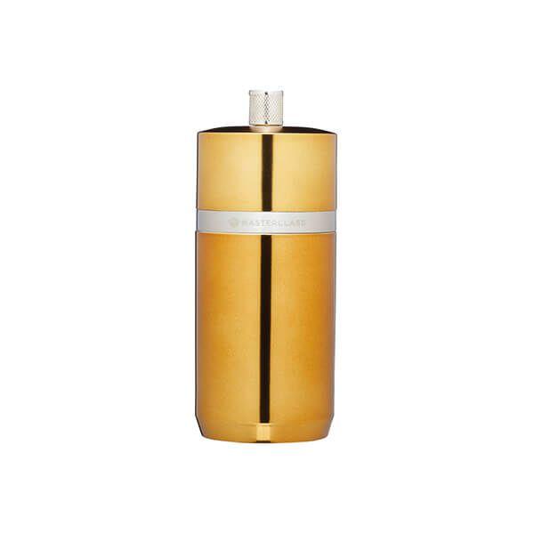 MasterClass Brass Finish Salt and Pepper Mill 12cm