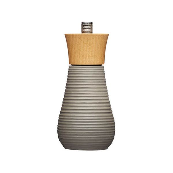 Master Class 15cm Pepper Mill Concrete and Beech Wood